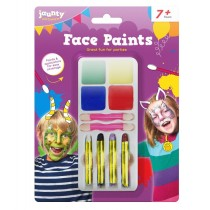 Time to Party Face Paint Set - 20 x 15cm - For Kids 7+ Years