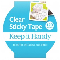 Jumbo Clear Sticky Tape - 120 Meters - 1 Inch