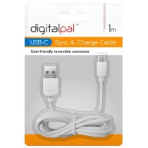Packaged Quality USB C Data Charge Cable Lead - 1 Metre