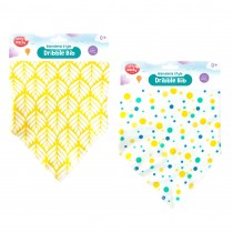 Upsy Daisy Bandana Style Dribble Bib - Colours May Vary - Pack of 12