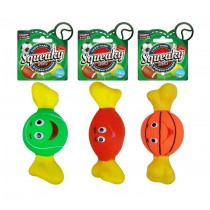 Cooper & Pals Squeaky Sports Dog Toy - Assorted Shapes & Colours