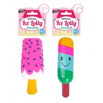 Cooper & Pals Squeaky Delicious Ice Lolly Parlour Dog Toy - Assorted Shapes