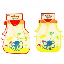 KIDS PAINT APRON - 2 ASSORTED DESIGNS - DESIGNS MAY VARY