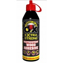 Strong As An Ox - Extra Strong Weather Proof Wood Adhesive - 500ml