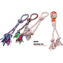 Doggy Rope Toy - Colours May Vary