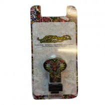 Ed Hardy Baby Dummy Clip Holder Tattoo Punk Official