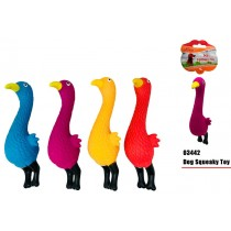 Pet Buddies Squeaky Doggy Play Toy Chicken - Colours May Vary