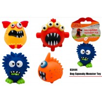 Pet Buddies Squeaky Doggy Monster Play Toy - Shapes Vary