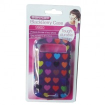 FUNKY BLACKBERRY MOBILE PHONE CASE - 9900 - COLOURS AND DESIGNS MAY VARY