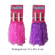 A to Z Keep Fit Pom Poms - Assorted Colours