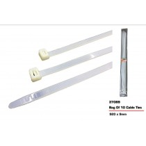 JAK Cable Ties - White - 920 x 9mm - Pack of 10