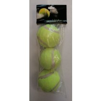 CK Everyday High Bounce Professional Quality Tennis Balls - Pack of 3