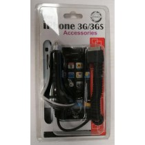 High Quality Stretchable Car Charger for Iphone 3G/3GS/4G - Black