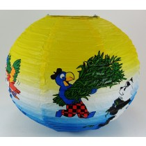 Kids Animated And Colourful Paper Lantern Light Shade