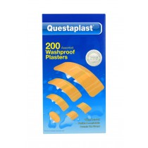 Questaplast Washproof Plasters - Assorted Plasters - Pack of 200