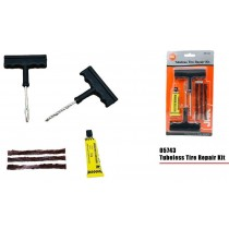 Emergency Motorcycle Car/Van Tubeless Tyre Puncture Repair Kit Tool Plug