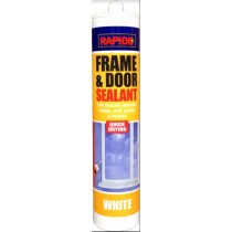 Rapide Quick Drying Frame & Door Sealant - White - 280ml - Exp: 01/23