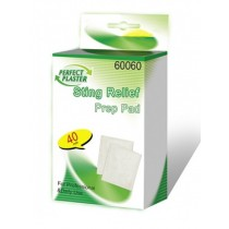 STING RELIEF PREP PAD - PACK OF 40