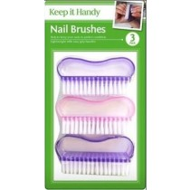 Nail Brushes - Pack of 3