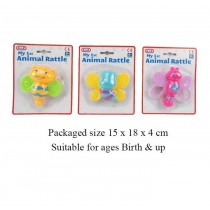 A to Z My 1st Animal Rattle - Assorted Shapes