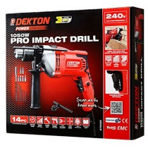 Dekton Power Pro Hammer Drill with Variable Speed - 1050W