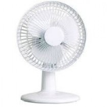 "6"" Desk Fan - White"