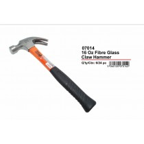 JAK 16 oz Claw Hammer with Fibreglass Handle