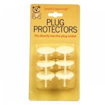 SAFETY PLUG PROTECTORS - PACK OF 6