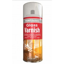Paint Factory All Purpose Gloss Varnish - Clear - 250ml
