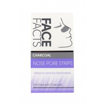 Face Facts Nose Pore Strips - Charcoal - Pack of 6