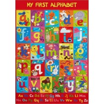 My First Alphabet Wall Chart / Poster - 76cm x 52cm