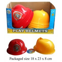 Children's Play Fire Helmet - Colours May Vary