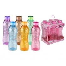 Solar Freezer Water Bottle - 1000ml - Colours May Vary