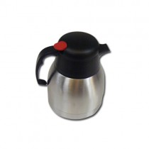 Stainless Steel Insulated Vacuum Tea / Coffee / Flask Pot 1 Litre - Designs And Colours May Vary