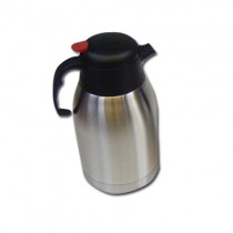 Stainless Steel Insulated Vacuum Tea / Coffee / Flask Pot 2 Litre - Designs And Colours May Vary