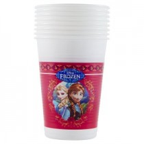 Disney Frozen Plastic Cups - Pack Of 8