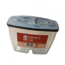 Painters Tub With Closeable Lid To Keep  Paint Or Turps Fresh