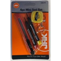 4 Piece Mini Tool Set