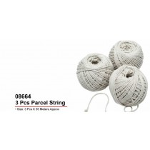 Parcel/Cotton String - Pack Of 3 X 35 Meters Approx