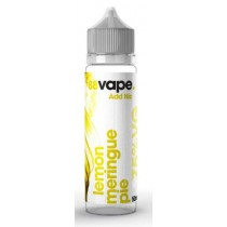 88 Vape Shortfill E Liquid - Lemon Meringue Pie - 75% Vg - 50Ml