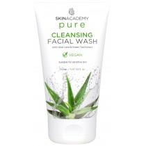 Skin Academy Pure Cleansing Facial Wash with Aloe Vera & Green Tea Extract - 150ml
