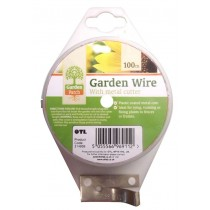 Garden Wire With Metal Cutter - 100 Meters