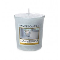 Yankee Candle - Samplers Votive Scented Candle - A Calm & Quiet Place - 50g