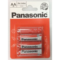 Panasonic Aa/R6 Batteries - Pack Of 4