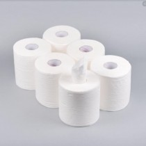 Active Multi Purpose Kitchen Cleaning Towel Paper Centre Feed Tissue Rolls - White - 60 Metres - 2 Ply - Extra Strong/Absorbent