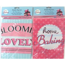 Adult Apron - 2 Assorted Designs - 60Cm X 75Cm