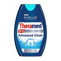 Theramed 2-in-1 Toothpaste + Mouthrinse - Advanced Clean - 75ml