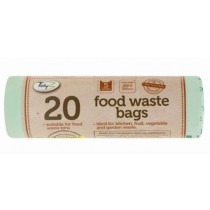 Bio Resin Food Waste Bags - 5 Litres - Pack Of 20