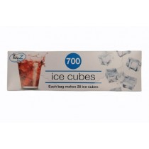 Tidyz Very Strong Ice Cubes Bags - Pack of 700 - 17.5 x 36cm