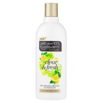 Alberto Balsam Blends Clear & Fresh With Organic Green Tea & Citrus Scent Hair Conditioner - 300Ml